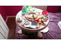 Fisher price servin surprise kitchen table cooking set.