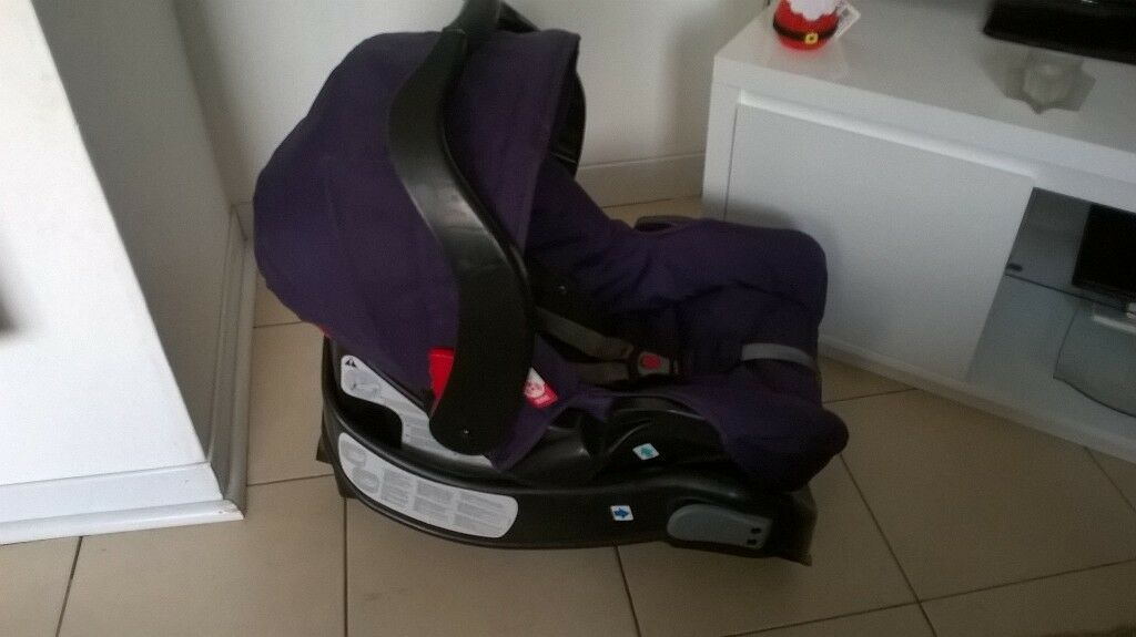 LOVELY CLEAN GRACO CAR SEAT WITH BASE SUITABLE NEWBORN - 12 MONTHS ...