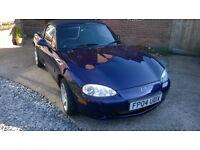 Mazda MX5 1800, 2004, 75K, serviced 12 months MOT