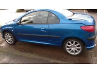 Peugeot 206 CC Vehicle in good condition