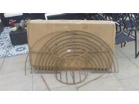 Alium™ Trentino Steel Circular Garden Tree Seat - Half Circle £45 Dumfries