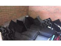 Dfs left hand corner sofa with pull out double bed