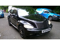 CHRYSLER PT CRUISER 2.2 LIMITED CRD DIESEL 2004 04 REG MET BLACK 5 DOORS 5 SPEED MANUAL PAS A/C 107K