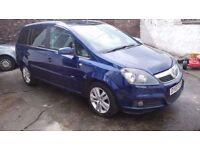 2007 Vauxhall Zafira 1.9 CDTI 7 Seater! Full Years MOT! GREAT DRIVING CAR! 6 MONTHS WARRANTY!!