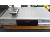 Panasonic DVD Player DMR-E55 in working order with remote control & Instruction Booklet