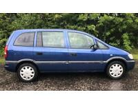 VAUXHALL ZAFIRA CLUB 7 SEATER 1.6L (2003) year mot ready to drive away full leather seats