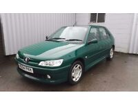 peugeot 306 1.9 LX Diesel 5dr, 1 years MOT, New Tyres, New Exhaust, Drives well
