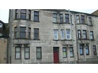 One bedroom ground floor flat to rent in Saltcoats. Good location, good internal decor, gch & d/g.