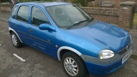 Corsa - Low miles, Runs well, MOT April, cam belt done, new battery and exhaust