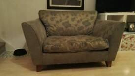 Snuggle sofa (1.5 armchair)