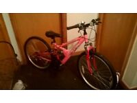 Girls mountain bike for sale