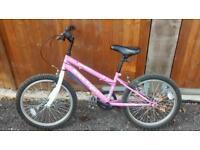 Girls cycle bike
