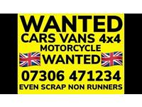 ♻️‼️SELL MY CAR VAN BIKE FOR CASH ANY CONDITION SCRAP DAMAGED NON RUNNING FAST COLLECTION TODAY 5
