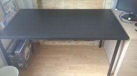 IKEA Black Office Table