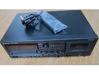 Tascam A500 Professional CD/Cassette with remote-Good condition