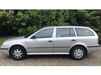 CHEAP DIESEL SKODA OCTAVIA ESTATE SDI 1.9L (2001) full year mot family car