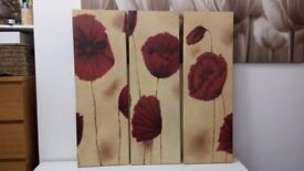 House clearance- Canvases , cushions