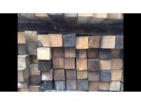 """100mm X 100mm(4""""x4"""") x 2300mm rough sawn timber posts"""