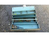 Five lever Metal tool box