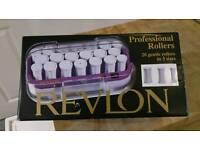 Revlon professional heated hair rollers