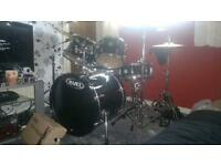 Mapex Horizon Drum Kit, Sale, Part-ex or Swap for Bass guitar.