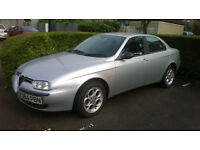 Alfa Romeo156 1.8 TS 2001 with 12 months MOT