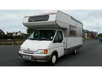 1993 Dethleffs Globetrotter A Class LHD 6 Birth Diesel Motorhome Ford Transit Based Just 50k miles!
