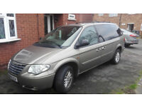 Chrysler Grand Voyager 2.8 CRD, automatic,2006, only 110k done from new.