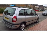 Vauxhall Zafira, 7 Seater, 2004, Mot April 2017, Full Service history, 89000 miles