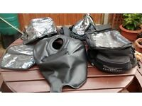 genuine Triumph Baglux tank cover / tank bag to fit 1050 speed triple