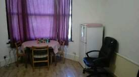 Studio flat with separate bedroom with balcony