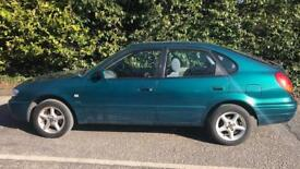 CHEAP TOYOTA COROLLA 1.4L (2001) full year mot WITH TOW BAR FITTED