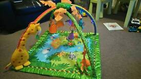 Fisher Price lights and sounds Playmat