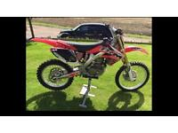 Honda Crf 250 09 twin pipe. Might swap for another bike car Quad Jetski why