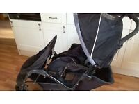 Graco double pushchair