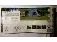 Famliy tent sleeps 6 with camping equipment