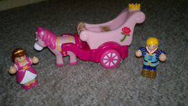 Push along horse