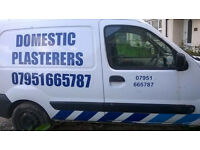 Domestic Plasterers free quotes