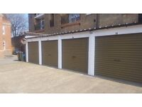 Garage to rent in Chiswick. For small or medium car. Lockable single garage behind security gate.
