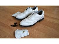 Hi-Tec Woosnam Dry-Tec Golf Shoes, Size 9 / 10