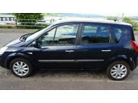 Renault scenic automatic 1 years mot