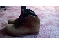 Ladies beige Brasher Walking boot size 5