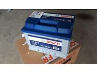 Bosch 60amp car battery - brand new