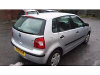 Volkswagen Polo 1.4 S 5dr (a/c) (02 - 05)