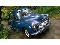 morris minor 1968 in need of restoration