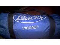 4 man Blacks tent