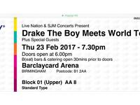1 DRAKE TICKET FOR SALE