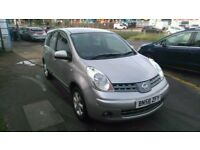NISSAN NOTE ACENTA 58 PLATE(2008)1.4
