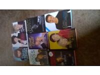 Two boxes of books one paperbacks and one hardback autobiographies, will separate £5 each box