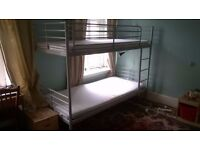 Ikea bunk bed metal frame